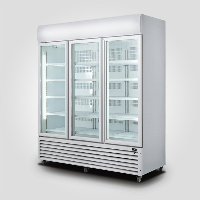 3-Doors-display-Cooler-(Hinge-Doors)