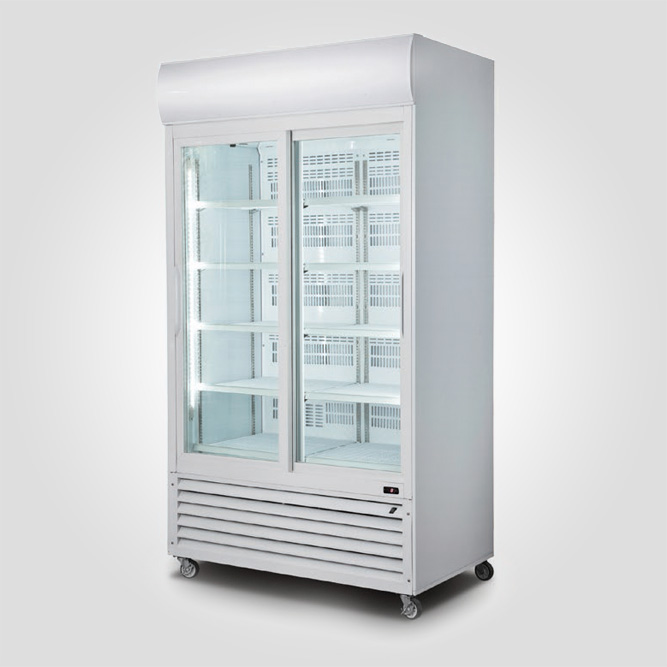 2-Doors-Display-Cooler-(Sliding-Doors)